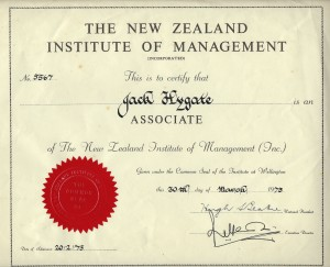 jack-hygate-diploma-from-the-new-zealand-institute-of-management